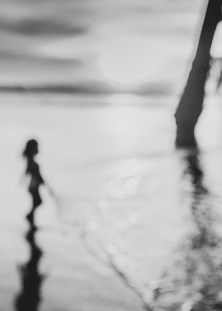 abstract photography, abstract art, photography wall art, wall decor, fine art photography, abstract black and white photography, beach photo, pier photo, Venice Beach