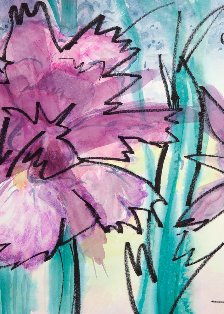 #15 Spring Flowers Art | Elaine Schaefer Hudson Art
