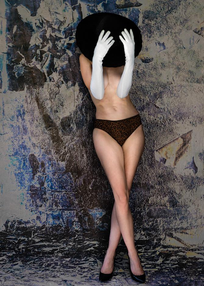 Cherish White Gloves Black Hat Photography Art | Dan Katz, Inc.