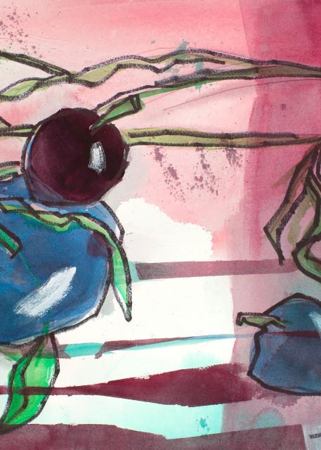 Plum God Takes A Knee Art | Elaine Schaefer Hudson Art