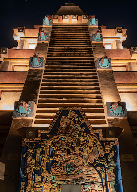 The Mexico Pyramid Photography Art   William Drew Photography