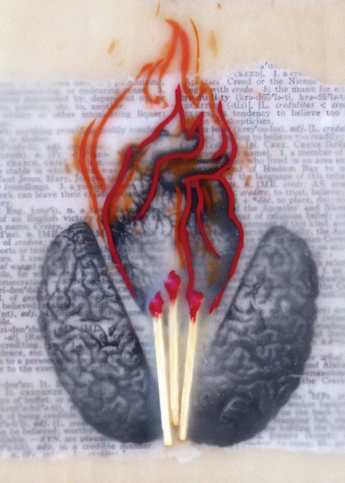 The Creative Heart (Reproduction) Art | Eyes Aflame LLC