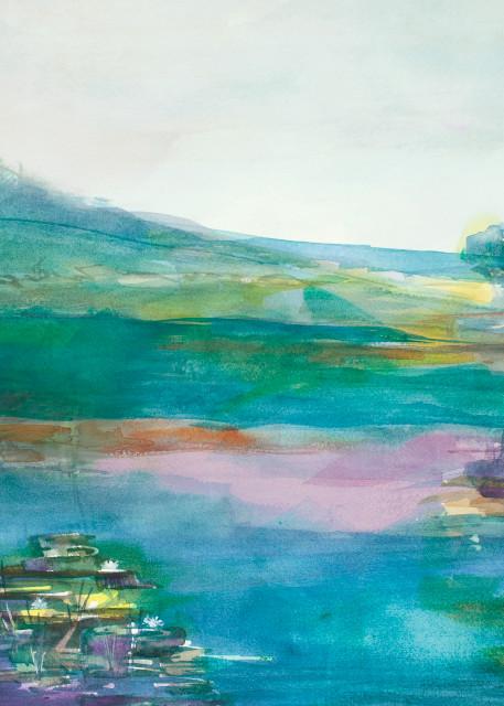 The Lagoon Art   Elaine Schaefer Hudson Art