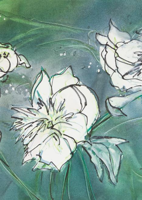 #5 White Peonies Art | Elaine Schaefer Hudson Art