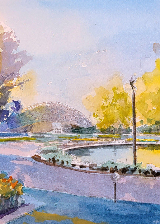 Stl Botanical Gardens 2 Climatron Art   Steven Dragan Fine Art