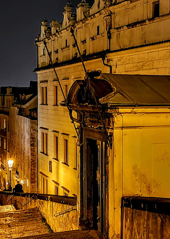 Nightime Stroll In Prague Photography Art   Photoissimo - Fine Art Photography