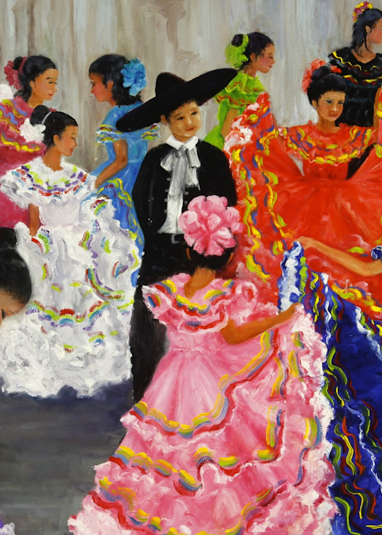 Fiesta Dancers Art | Marsha Clements Art