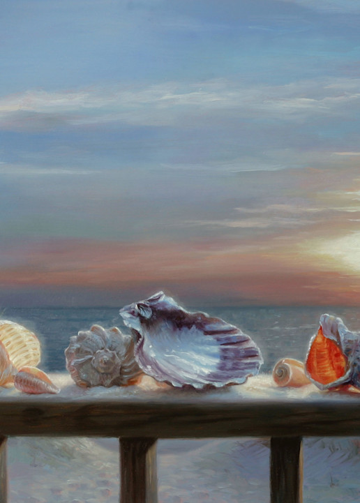 Shells For Grandma Art | Romanova Art