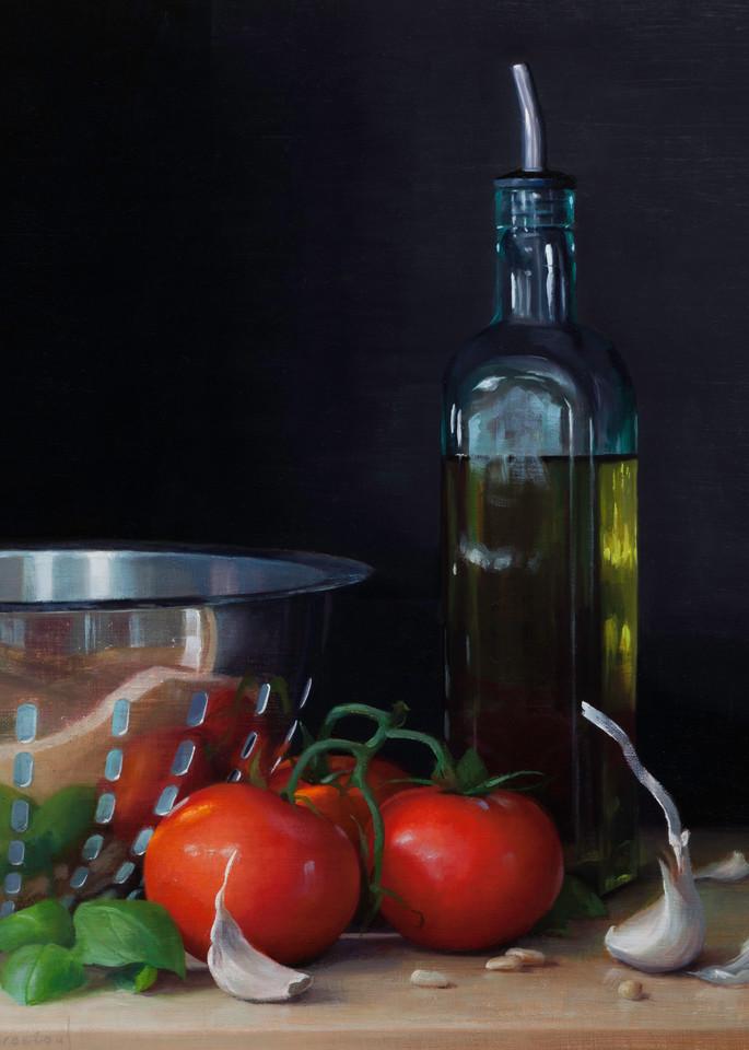 Pasta Night Art | Romanova Art