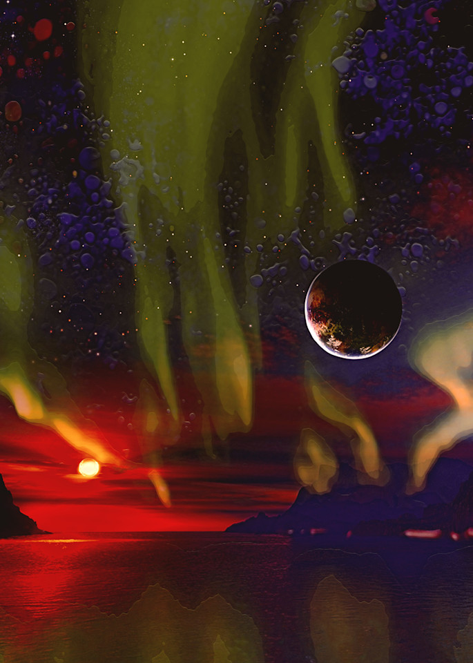 Aurora Planet Art | Don White-Art Dreamer