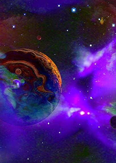 Orphan Planet Art | Don White-Art Dreamer
