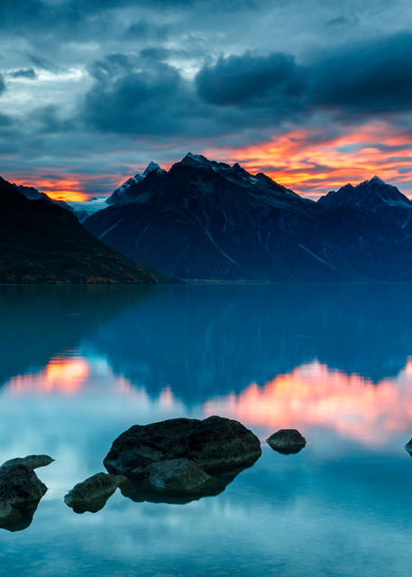 Chigmit Sunset