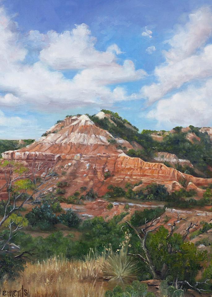 Palo Duro Peak Art | Marsha Clements Art