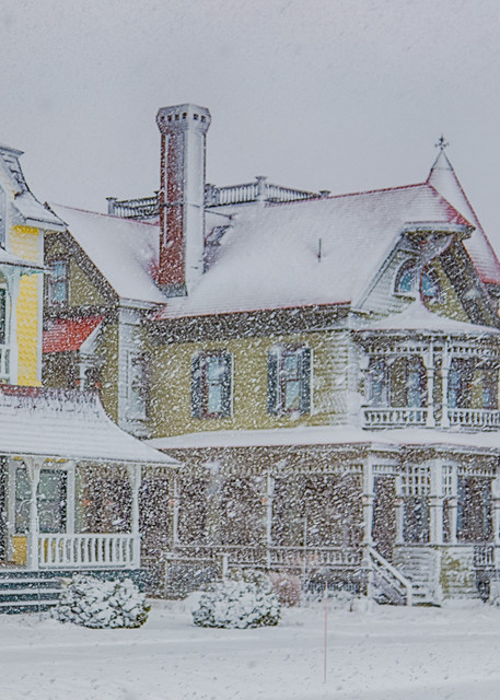 Norton House Snow Art | Michael Blanchard Inspirational Photography - Crossroads Gallery