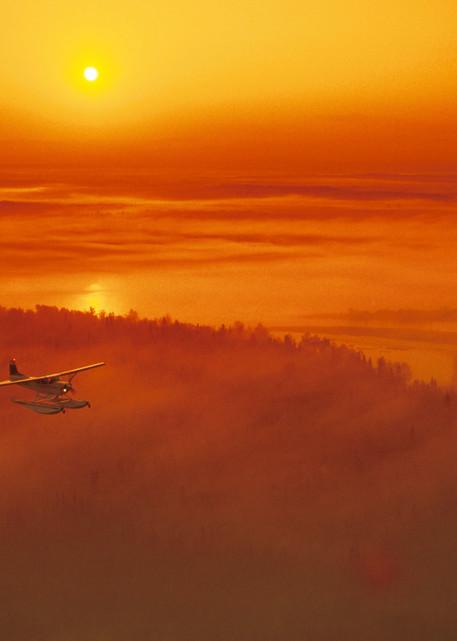 Cessna Sunrise Fog