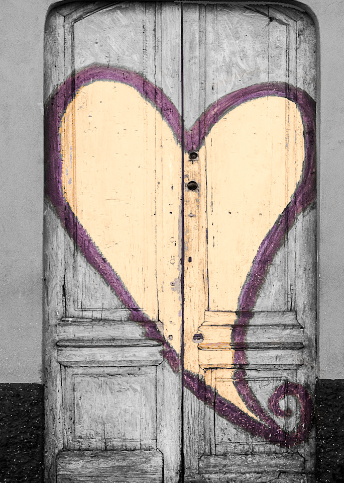 Door To My Heart, Italy Photography Art | The World in Black and White