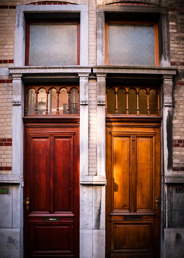 Doors of Ixelles No. 4, Brussels, Belgium 2018
