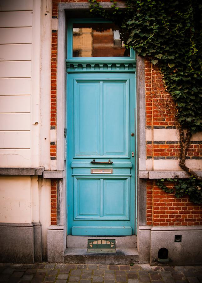 Doors of Ixelles No. 3, Brussels, Belgium 2018