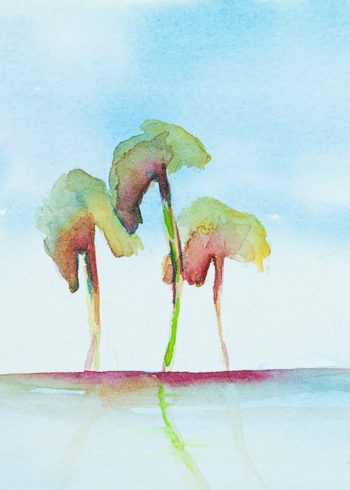 Three Palms Art | ArtByPattyKane