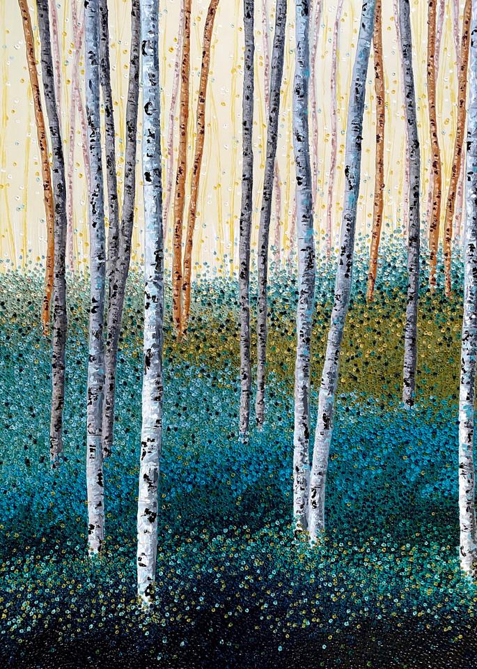 Serene In Green Art | Tessa Nicole Art