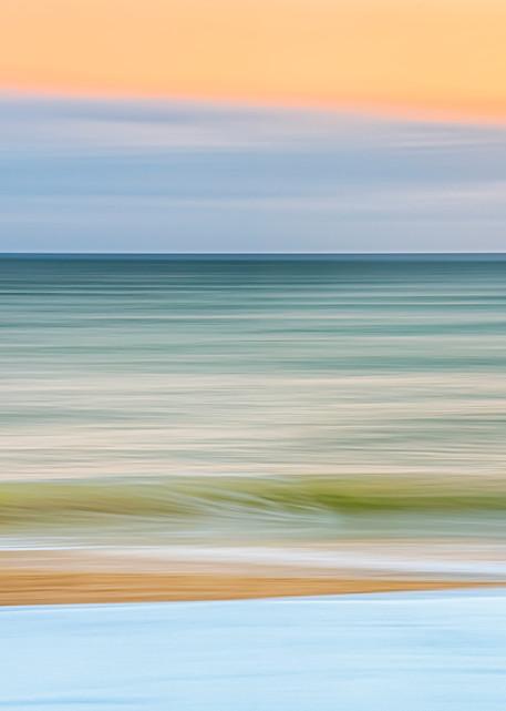 South Beach Snow, Sand And Sea Art | Michael Blanchard Inspirational Photography - Crossroads Gallery