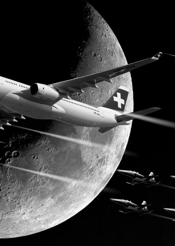 Fly over the Moon - Christian Redermayer Photography