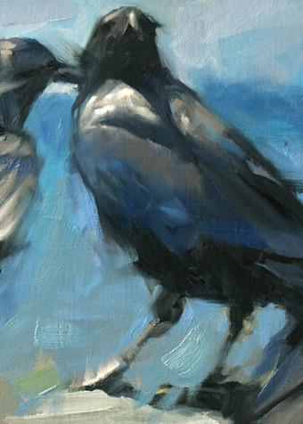 3 Crows  Art | robincaspari
