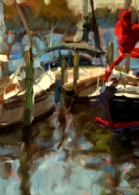 Chesapeake Marina  Art | robincaspari