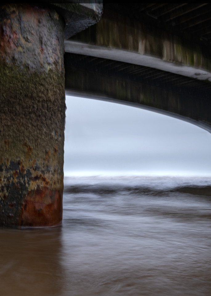 Under Bournemouth Pier Study1 Art | Roy Fraser Photographer