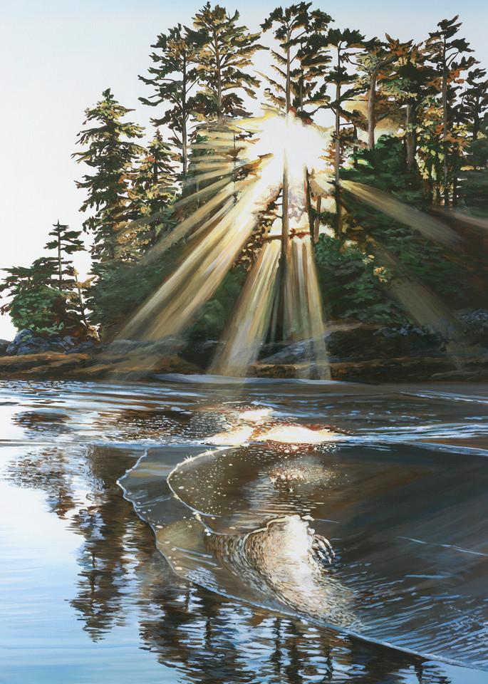 Exalt, open edition print inspired by Schooner Cove in Tofino BC