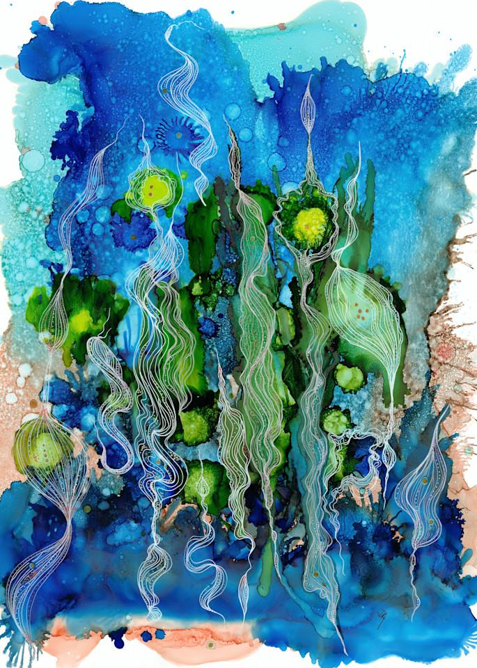 Kelp Dance Hd Art   Art With Judy Ann