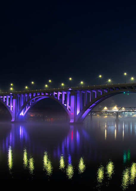 Knoxville's Henley Bridge - Tennessee fine-art photography prints