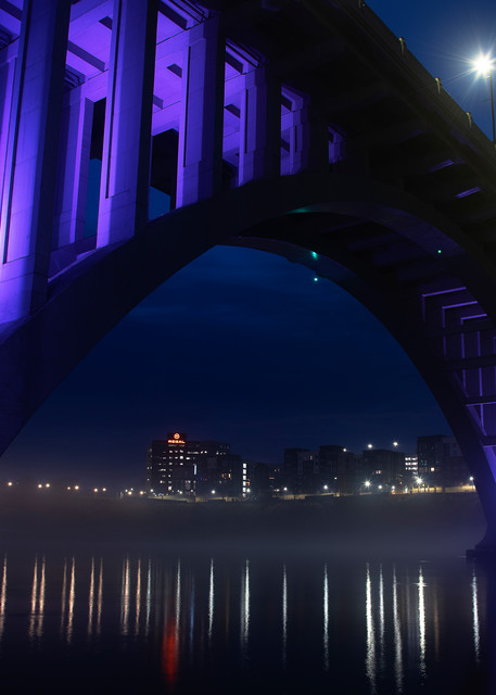 Under Henley Bridge - Tennessee fine-art photography prints