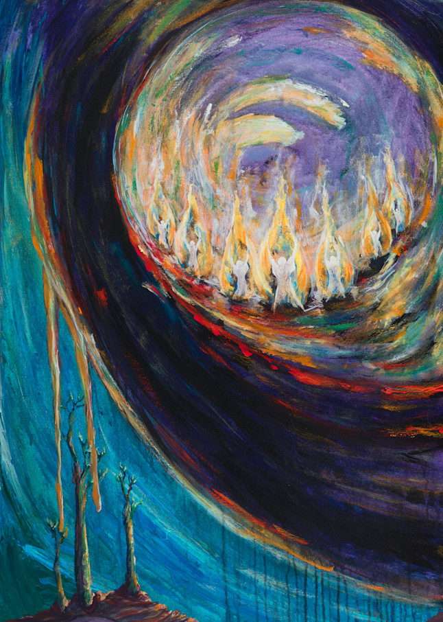 """To The Church Of Sardis Write"" Art | glimpsesofglory"