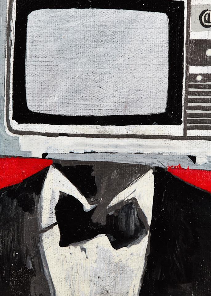 Tv Man Art | Wanderlust in ART