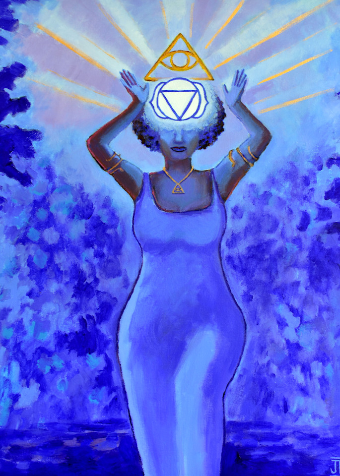 Visionary Queen, art by Jenny Hahn