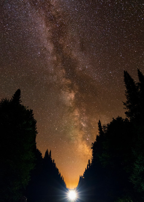 Milky Way Over Adk Rr Wide Photography Art | Kurt Gardner Photogarphy Gallery