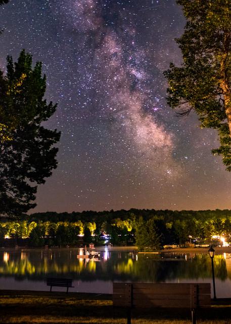 Old Forge Pond Milky Way Photography Art   Kurt Gardner Photogarphy Gallery