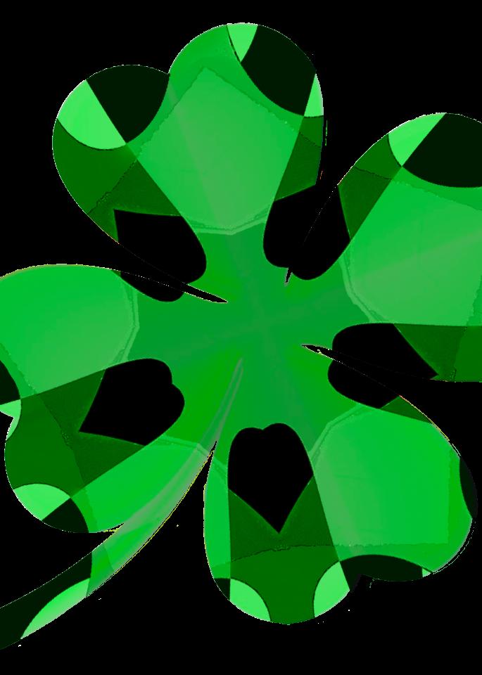 Four Leaf Clover Art | karenihirsch