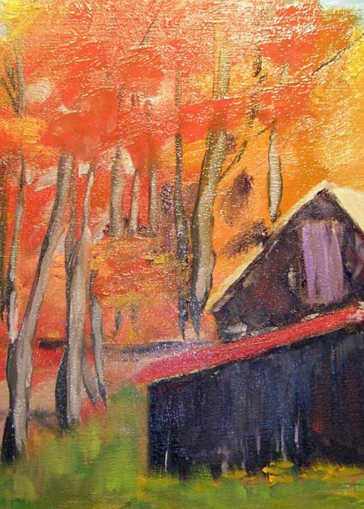 Blazing Autumn Art | Jerry Hardesty Studio
