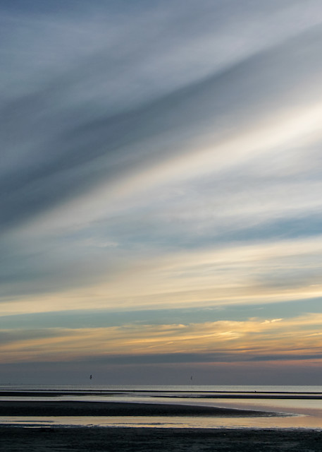 Rock Harbor Dramatic Sky Photography Art | The Colors of Chatham