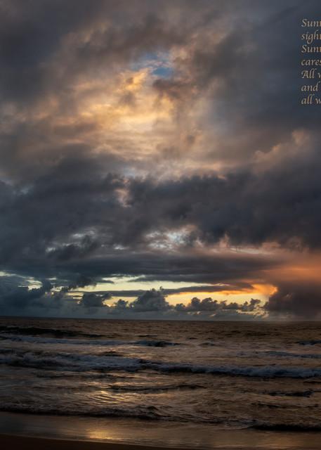 Sunrise Gave Voice Photography Art | Ed Sancious - Stillness In Change