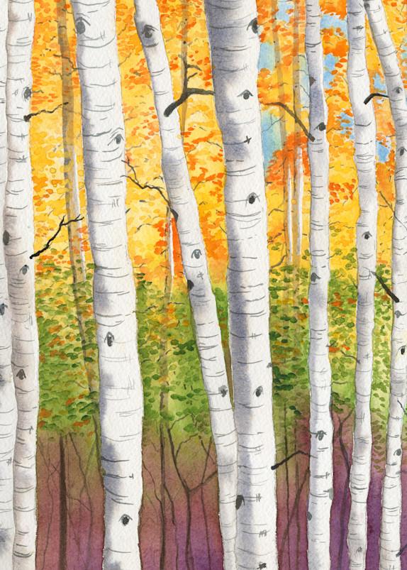 Aspens Iii  Art | Katherine Rodgers Fine Art