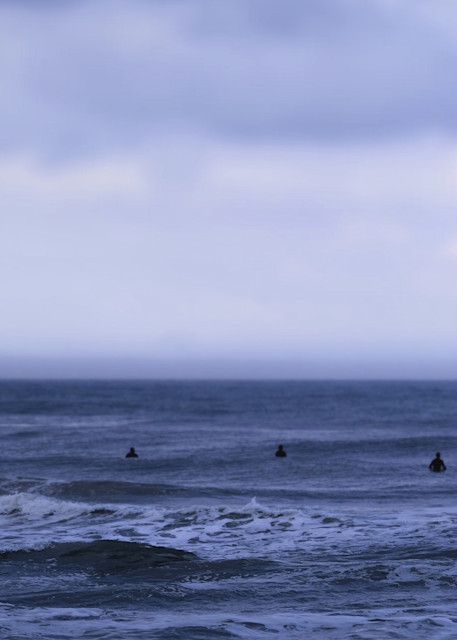 Sea Of Surfers Photography Art | Silver Sun Photography