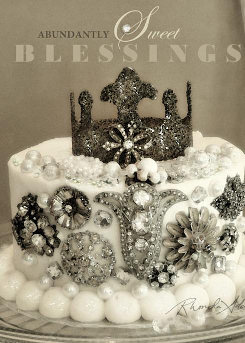 Jeweled Cake Art