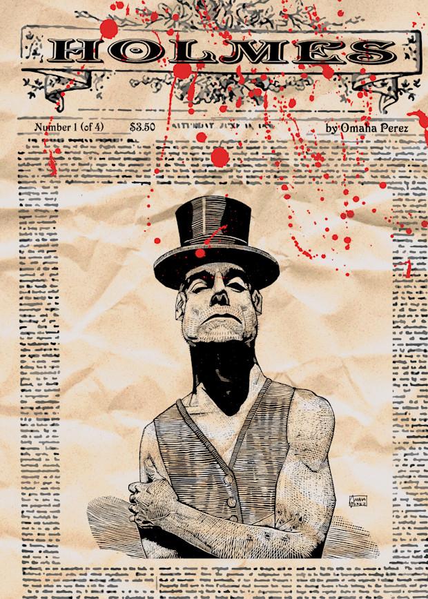 Holmes: Haydn's Head Issue 1 Cover Art | Omaha Perez Art