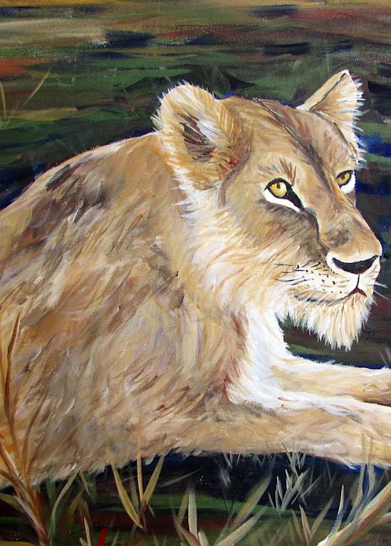 Queen Of The Jungle Art   Linda Sacketti