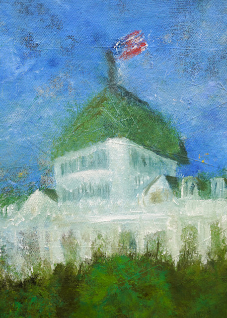 The Grand From The Garden Art | S Pominville