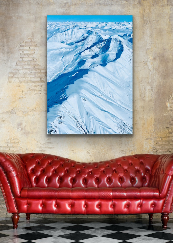 Ridgeline In The Talkeetna Mountain  Photography Art | Visionary Adventures, LLC