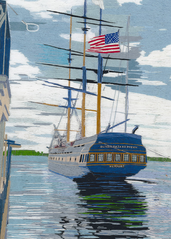 Oliver Hazard Perry Web Art | David Poyant Paintings